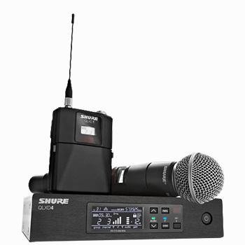 SLF audio verhuur Shure QLXD